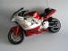 RC motorka 1:8, červená