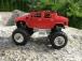 Mini RC Monster Truck, červený