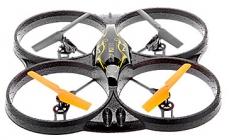 RC dron Sky King, žlutá