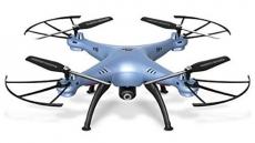 Dron SYMA X5HC, modrá