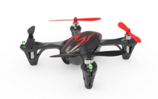 Dron HUBSAN H107C, černá