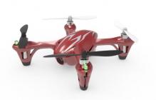 Dron HUBSAN H107C, červená