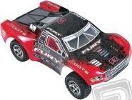 RC auto 2016 Fury BLX 2WD, červenočerná
