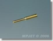 2019 Spojka M2, pr.1,8mm (vnější O 3, l=22 mm) 10 ks