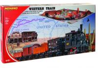 MEHANO Train set Western s maketou tratě