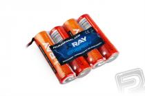 4.8V 2000AA Long RAY TX (Flash 7, LYNX 4S) 4čl. vysílačový (plochý)