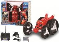 RC auto Twister Stunt, červená
