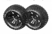 6528 Sada pneumatik pro Truggy