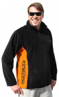 852927 černá fleece mikina S