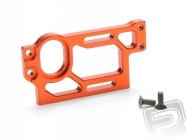 Alu motorový držák (oranžový) - strana pro motor