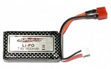 LiPo sada 7,4V 1600mAh MT-TWIN