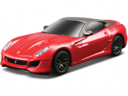 Bburago Light & Sound Ferrari 599 GTO 1:43 červená