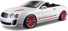 Bburago Plus Bentley Continental ISR 1:18 bílá
