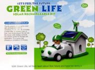 Solární stavebnice SolarBot 2 v 1 Green Life