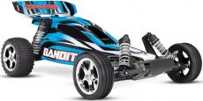 RC auto Traxxas Bandit 1:10 RTR, modročerná