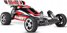 RC auto Traxxas Bandit 1:10 RTR, červenočerná