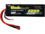 Black Magic LiPol Car 7.4V 6000mAh 30C Deans