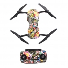 DJI Mavic Air polep Graffiti