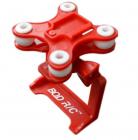 Držák kamery GoPro, SJCAM, XIAOMI, červená