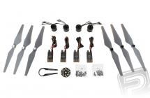 E305 pohonný systém - set 4x motor, regulátor, vrtule
