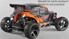 FG Off-Road Beetle WB535, 4WD, RTR, čirá karoserie