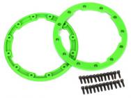 Geode - pojistný kroužek kola zelený