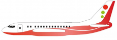Házedlo Siva Air 571, červená
