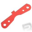 Hliníkový držák ramen, zadní vpředu, červený