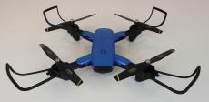 RC dron DM107s, modrá