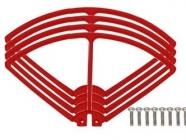 Syma X8C-04R kryty rotorových listů, červená