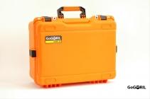 Set profi kufr G36 + univerzální výstelka, oranžová