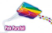 Létající drak PINK PARAFOIL