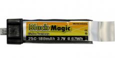 LiPol Black Magic 3.7V 180mAh 25C EFL