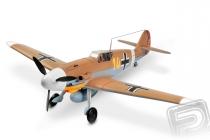 Messerschmitt BF-109 1400mm ARF (hnědý)