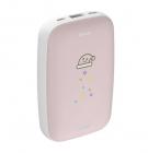Mini Q ohřívač rukou Power Bank 10000mAh (růžová) (PPALL-CXQ04)