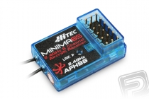 MINIMA 6S 2,4Ghz přijímač AFHSS 6 kanálů bez telemetrie