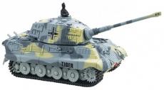 RC tank King Tiger 1:72, šedá barva