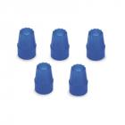 Modré kryty pro osvětlení, 5ks