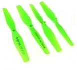 Náhradní rotorové listy X5HC a X5HW, zelená