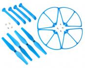 Set pro Syma X8C, X8G, X8W, modrá