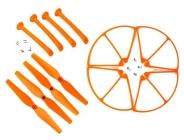 Set pro Syma X8C, X8G, X8W, oranžová