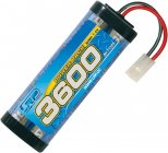 Power Pack 3600 - 7.2V - 6 článkový NiMH Stickpack