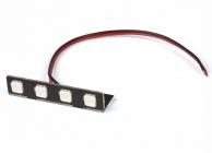 RACE COPTER ALPHA 250Q - zadní červené LED (PCB)