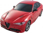 RC auto Alfa Romeo Giulia Quadrifoglio,červená