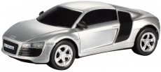 RC auto Audi R8, stříbrná