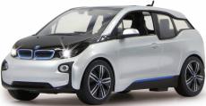 RC auto BMW I3, stříbrná