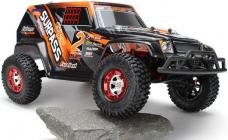 RC auto Extreme-2 4WD RTR 1:12, oranžová