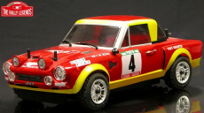 RC auto Fiat 124 Abarth Rally