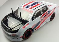 RC auto Racers Drift Pick-up, červená