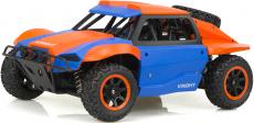 RC auto Racing rally, oranžovomodrá